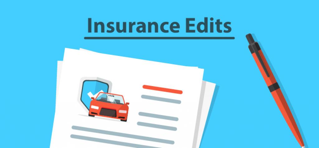 Insurance Edits