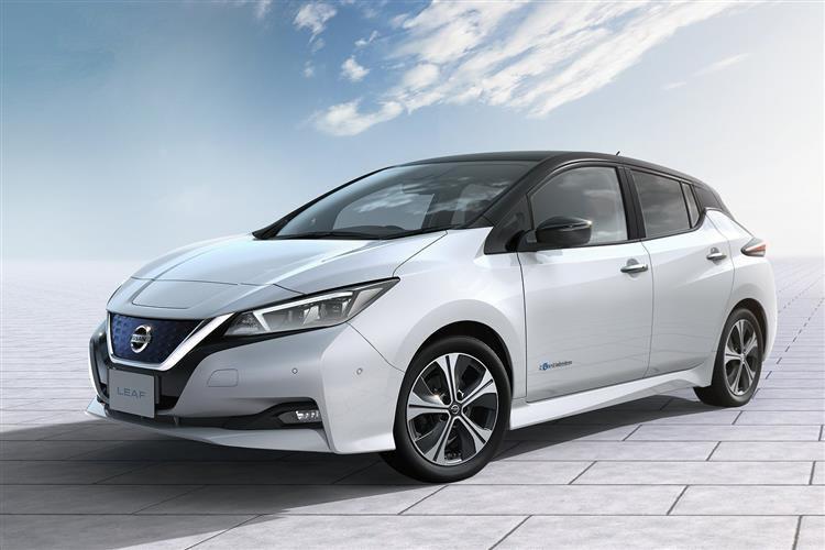 Nissan Leaf Large Image